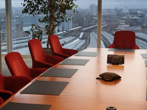 boardroom, london, office
